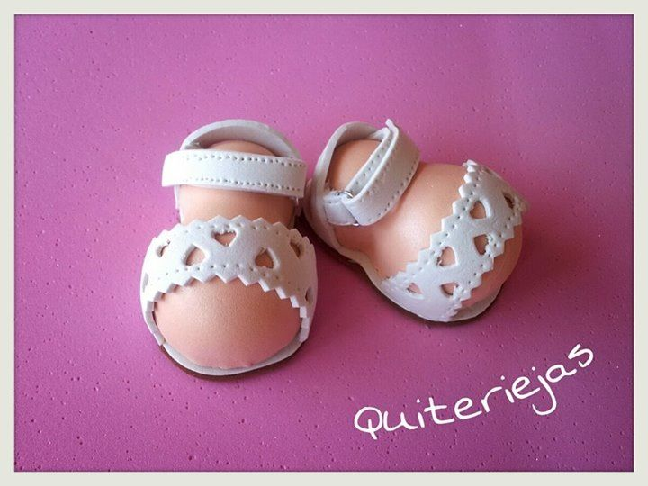 girl figurine feet in lacy sandals idea