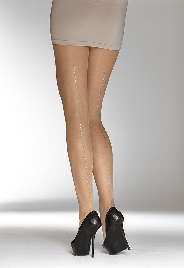 Dot Charm pantyhose / Vogue S/S 15