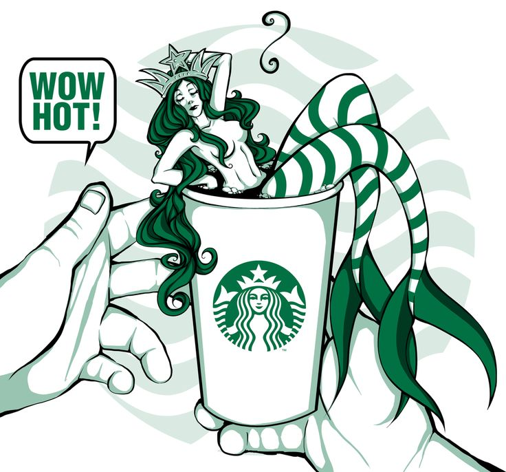 Image result for slutty starbucks mermaid