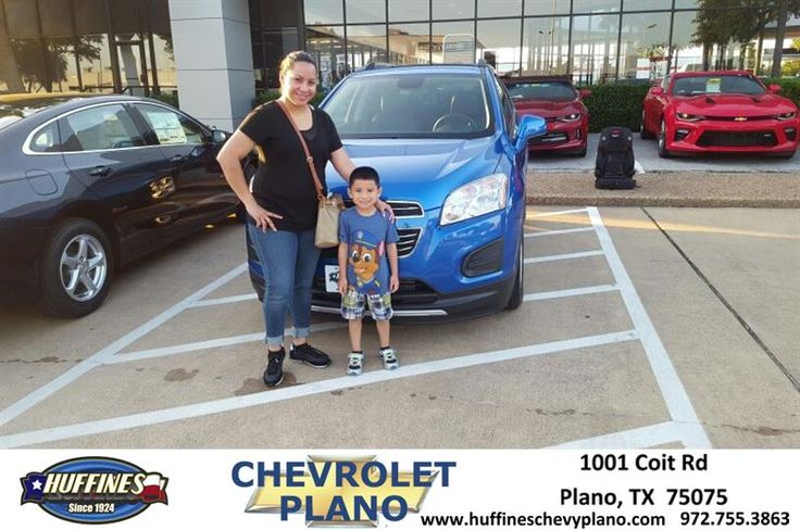 Patient customer with kid who loves cars  https://deliverymaxx.com/DealerReviews.aspx?DealerCode=NMCL  #Trax #Blue #LT #HuffinesChevroletPlano