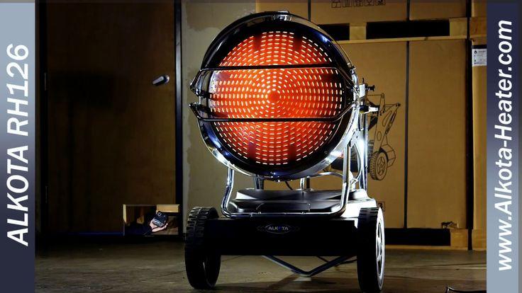 Alkota RH126 Radiant Heater