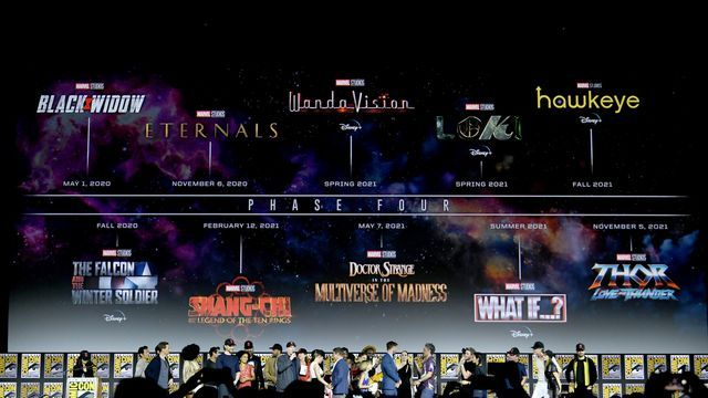 Every Marvel Phase 4 movie and TV show announced at SDCC 2019 #Gaming #News #Ent…