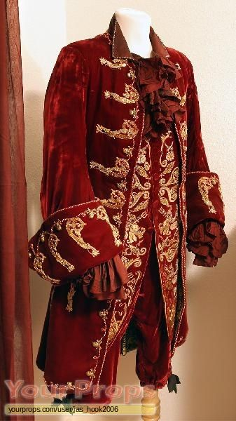 Captain Hook's coat from Peter Pan, 2003
