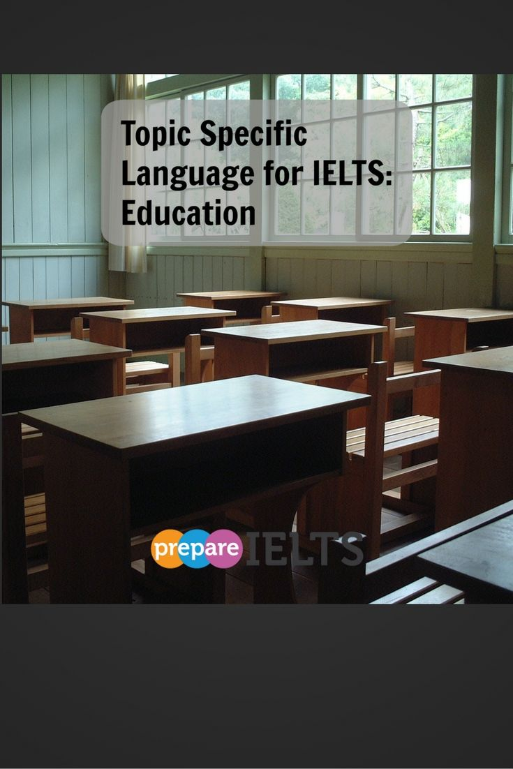 For IELTS, you need specific language for every topic, so check out this post…