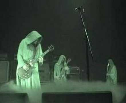 """SUNN O))) is a metal band known for its deep, droning guitar effects, performed so loudly and in such low frequencies that listeners feel vibrations more than they hear pitches.  When heard live, this infrasound can trigger headaches/nausea.  """"People definitely go to these concerts to experience the vibrations,"""" said Olivia Lucas, a Harvard grad student who has written about the band in her research on the sonic extremes of metal.  """"It's like a pilgrimage to discover the physicality of…"""
