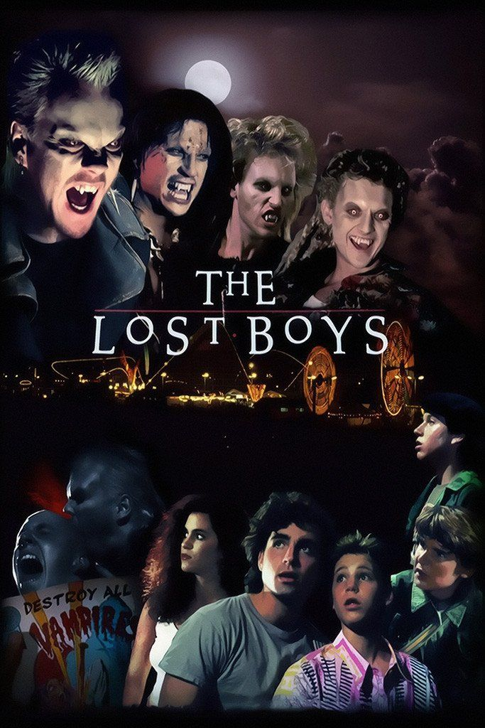The Lost Boys Movie Poster Lost Boys Movie Movies For Boys Boys Posters