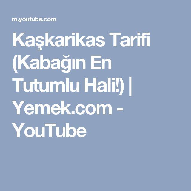 Kaşkarikas Tarifi (Kabağın En Tutumlu Hali!) | Yemek.com - YouTube