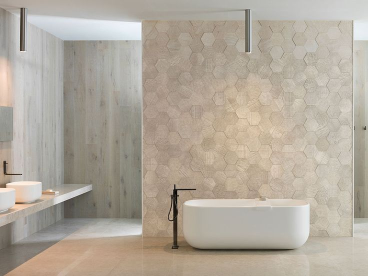 Amsterdam 2D Hexagon Beige, Natural Stone, Wall Tile, L'antic