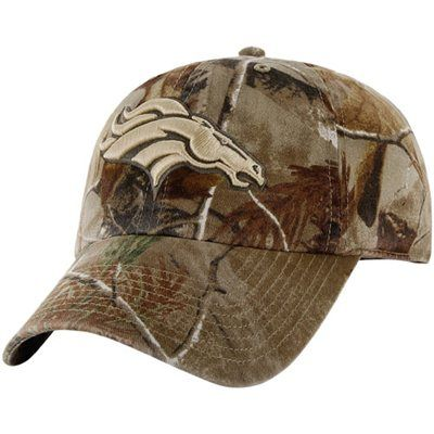 '47 Brand Denver Broncos Franchise Fitted Hat - Realtree Camo