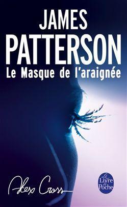 """#VendrediLecture de @Leraille2 """"avec mon #cybook James Patterson le masque de l'araignée"""" #CybookLecture"""