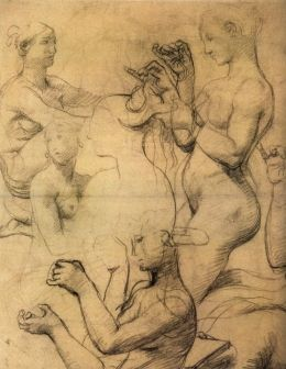 Ingres - Study for The Turkish Bath