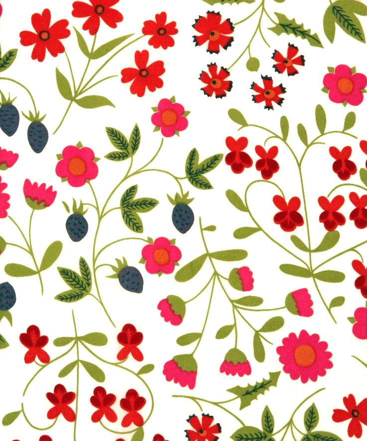 """sugarmeows:""""Mirabelle"""" fabric (1962) from Liberty of London"""