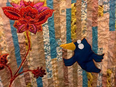 """Quilt """"Bluebird"""""""
