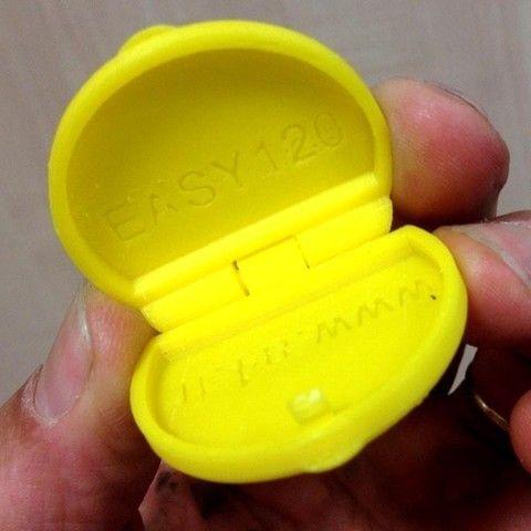 3D Boite à Pilules, Etienne