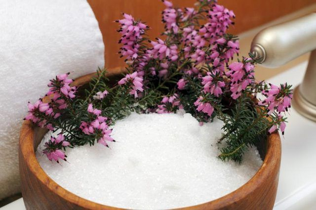 Epsom Salt Vs. Magnesium Chloride.  Epsom salt is a type of magnesium known as magnesium sulfate.  It is usually in the form of salt crystals. Magnesium Chloride  is a type of salt that originally comes from seawater and is usually in the form of flakes.  Both have unique health benefits.