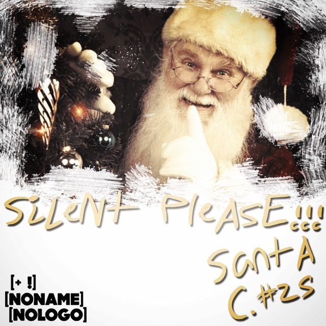 Silent please... #nonamenologo #marketing #webmarketing #neuromarketing #comunicazione #eventi #silentplease #santaclaus #christmas