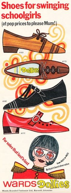 1960s Shoes - when Britain showed the world how to make really FAB things