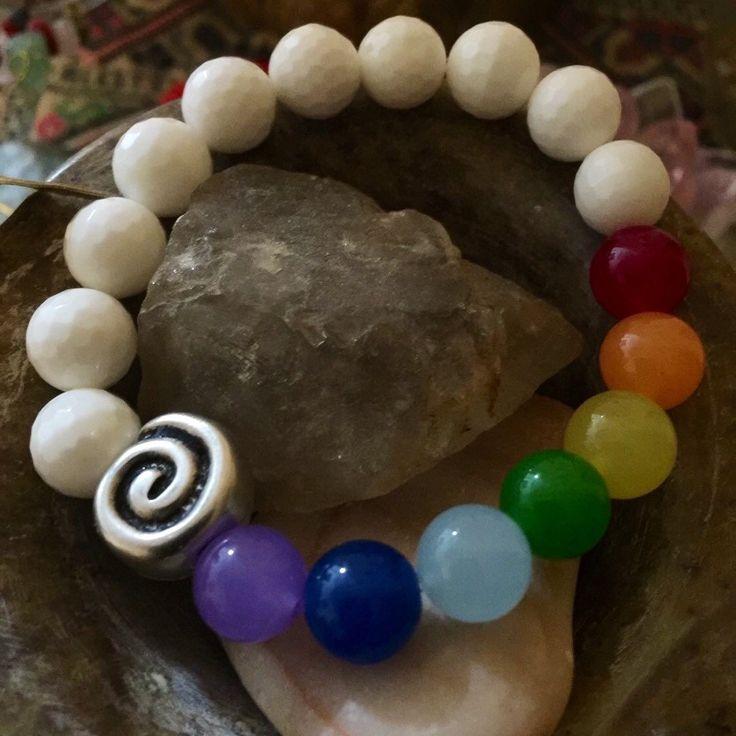 7 chakra bracelet for energy and balance