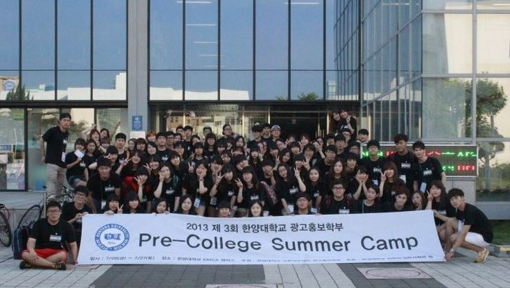 "Our major has ""Pre-College summer camp"" for high school students who want to enter Advertising and Public Relations.  We help them to experience in advance :)  Planning mini-project and touring school are included.  We have proceed our pre-college camp for 3 years. We will continue:)"