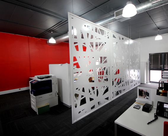 Bespoke, Laser Cut Screens, Dividing Screens, Offices, Caper Town