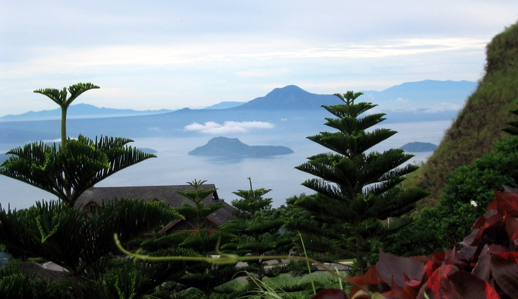 Taal Volcano, Tagatay, Philippines.....heading back soon for a new adventure.     Zip lining.  Can't wait.