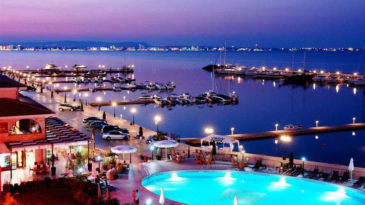 Sunny Beach, The Largest Beach Resort in Bulgaria Sunny Beach Night View