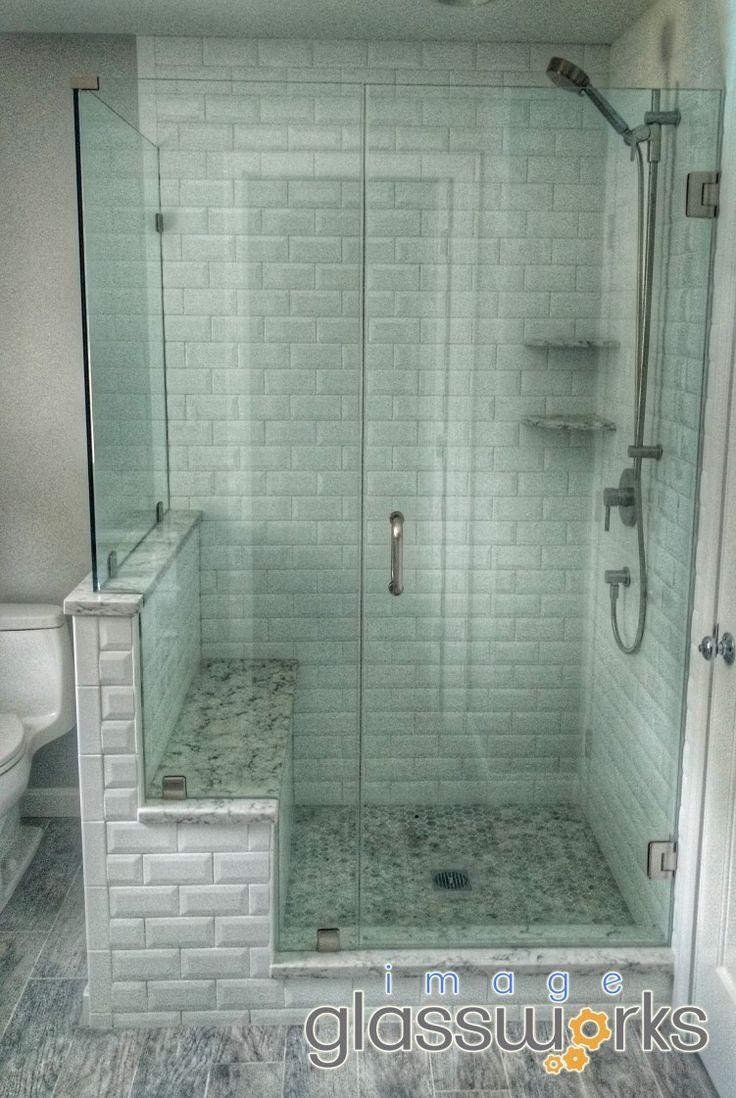 127 Best Frameless Shower Doors Swinging Hinged Images