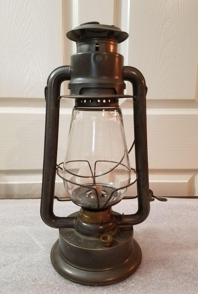 Ct ham  cold blast no.2 lantern | Collectibles, Transportation, Railroadiana & Trains | eBay!