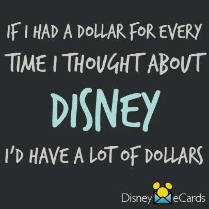 Maybe even enough to take another trip to Disneyland, disney world, disney cruise, disney aulani, and stay there each time for a week!!!!!