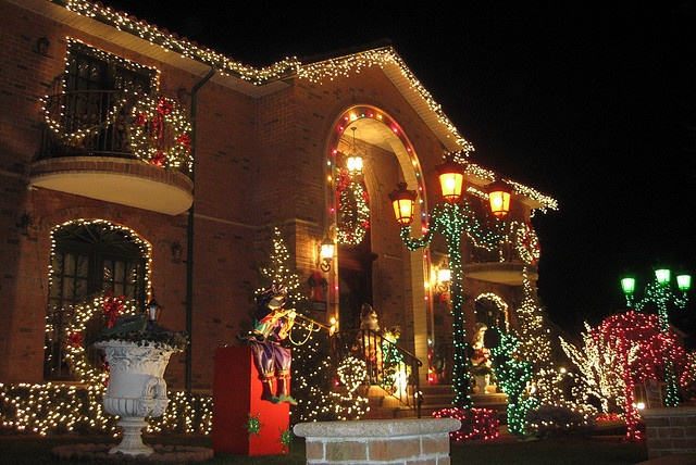 NYC - Brooklyn - Dyker Heights: Christmas Lights 2008 by wallyg, via Flickr