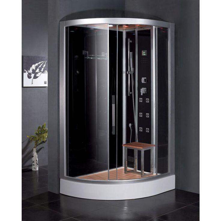2017 new design luxury steam shower enclosures bathroom steam shower cabins jetted massage walking in sauna rooms