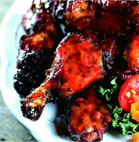 TERIYAKI CHICKEN WINGS - chicken, ginger, healthy, recipes, teriyaki