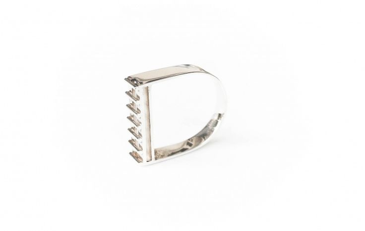 Caged ring   Art Styles jewelry   zilver   Studio Art Styles
