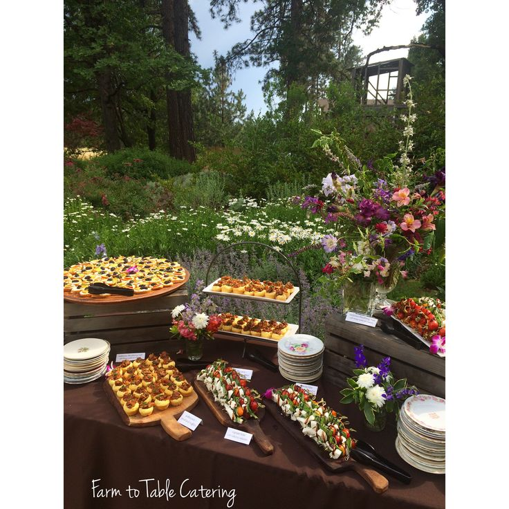 17 Best Images About Farm To Table Catering On Pinterest
