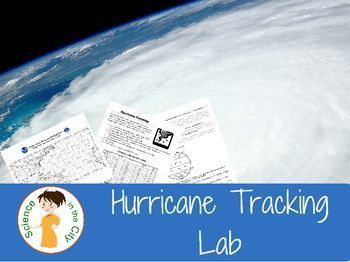 Hurricane Lab: This activity is great to use early in the school year, during hurricane season as an introductory activity, in a unit on latitude and longitude, in a weather and storms unit, or at another time during the year as a teachable moment when th