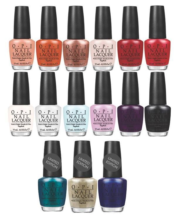 OPI Venice Fall 2015 Collection – Promo Photos