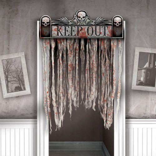 Rideau Salle De Bain Tissu : Halloween Spooky Hollow Curtains