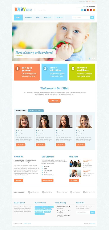 cute colorful web design