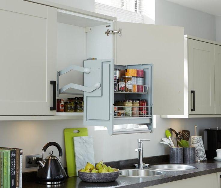 Pull-Down Shelf | Kitchen Universal Design | Pinterest ...