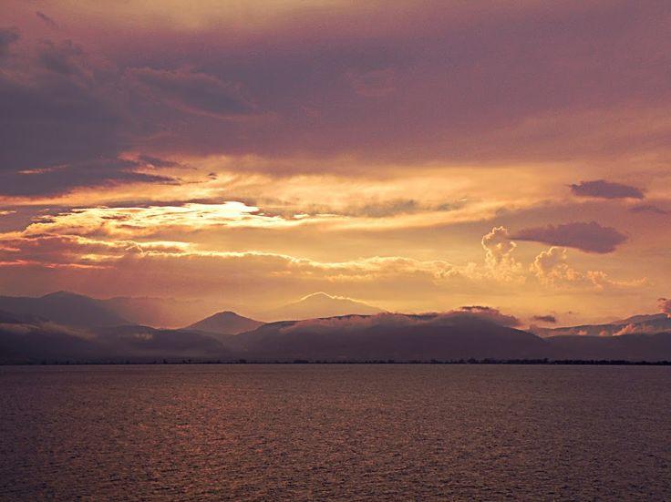 Burned sea and sky-GREECE