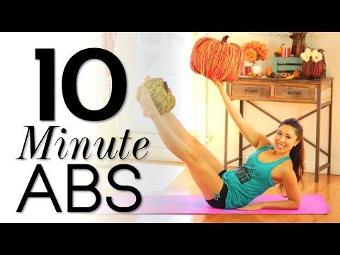 10 Minute Fat-Burning Abs Workout