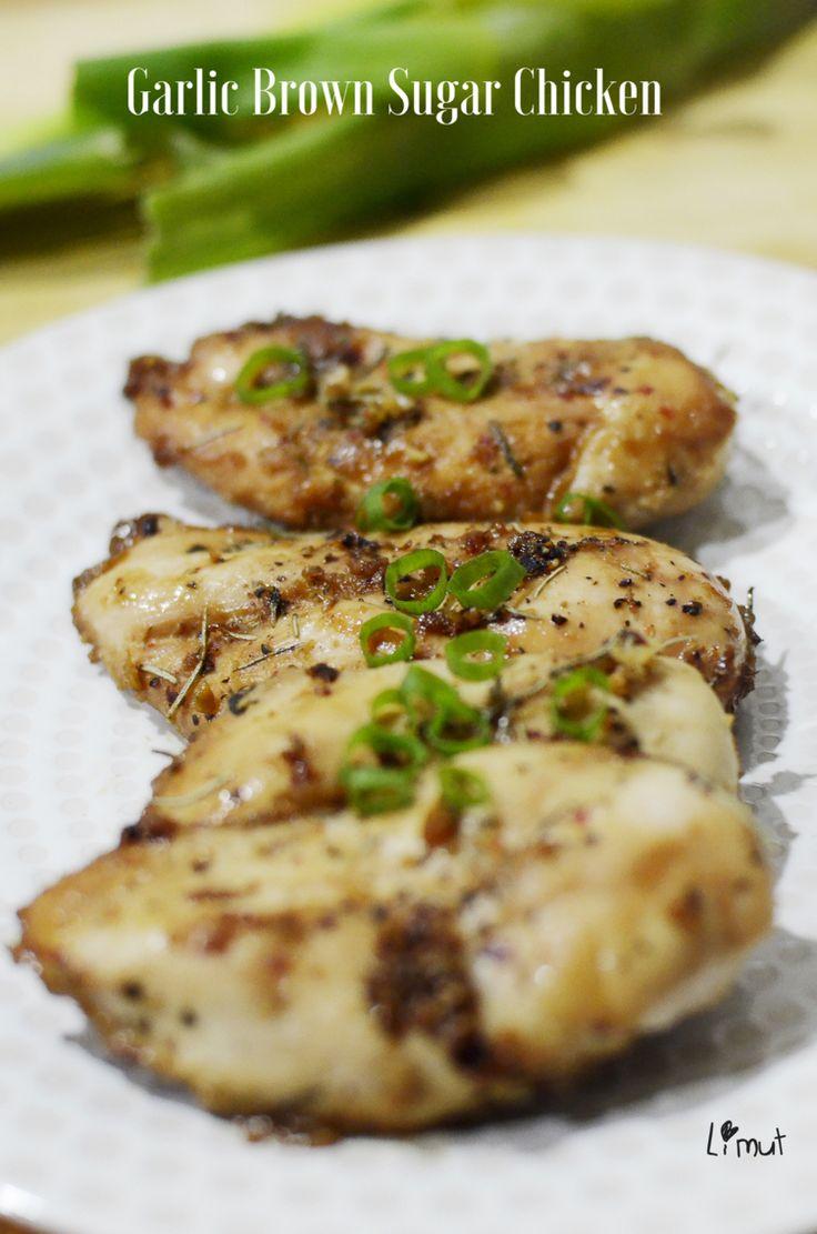 Homemade Garlic Brown Sugar Chicken