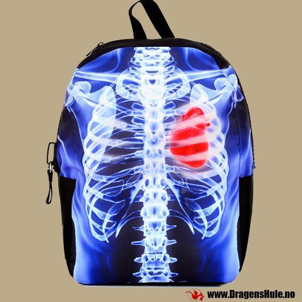 Ryggsekk: Mojo X-ray Ribcage fra DragensHule. Om denne nettbutikken: http://nettbutikknytt.no/dragens-hule-no/