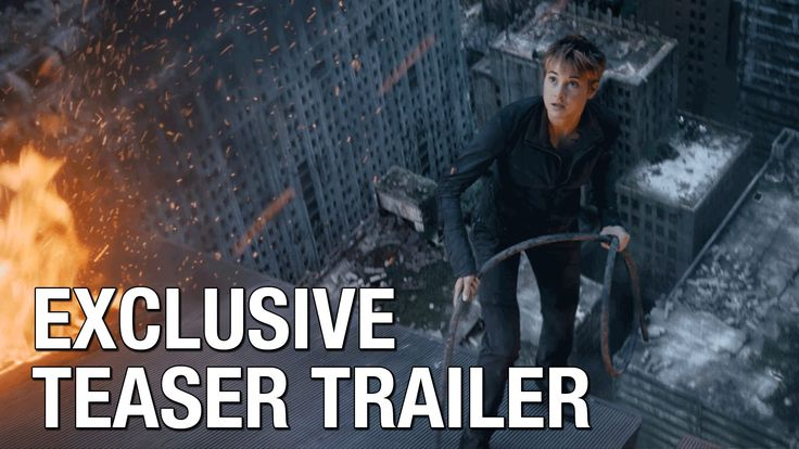 FIRST TEASER TRAILER!!!! I don't remember this part in the book though ?? ~Divergent~ ~Insurgent~ ~Allegiant~