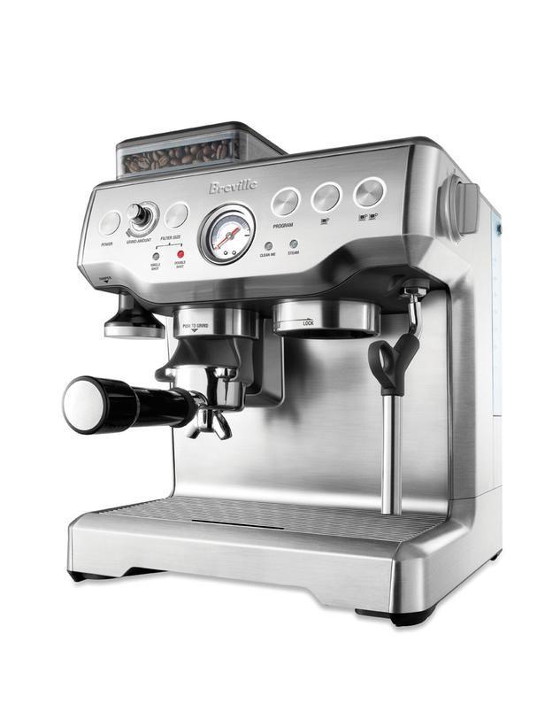 Must-Have Countertop Appliance: Automatic Espresso MachineKitchens, Espresso Machine, Express Bes860Xl, Breville Barista, Coffee, Barista Express, Espresso Maker, Brevil Barista, Products