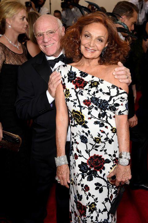 25 power celebrity couples: Barry Diller & Diane von Furstenburg