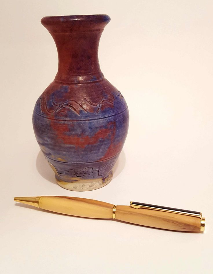 Beautifully handcrafted wooden pen made from Irish Yew by OakWoodIreland on Etsy
