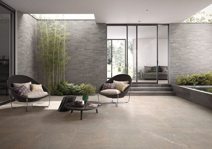 Piase by Emilceramica  #emilgroup #tiles #ceramics #floortiles #interiordesign #madeinitaly #architecture #style #stoneeffect #outdoor #modern #contemporary