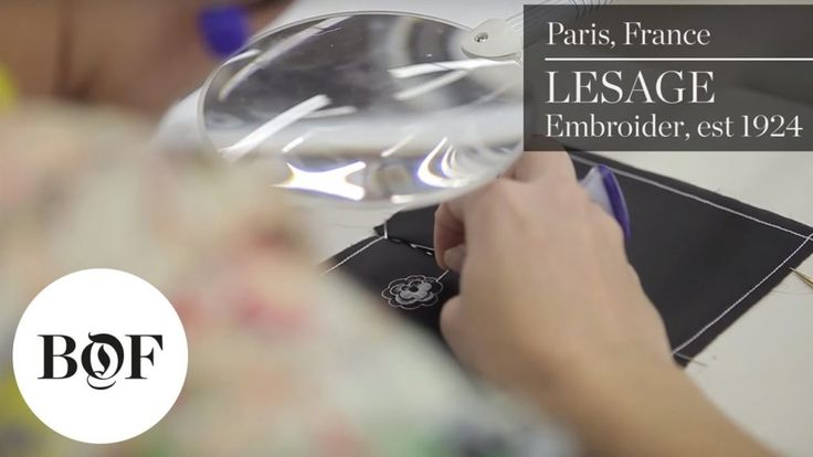 """BoF inside Lesage (est 1924), a world prominent embroidery maison that is now part of Chanel subsidiary Paraffection, to review just how workmanship can make it through in the contemporary globe. Find out more: Subscribe Below:    <div class=""""ytg-video-url"""">    https://www.youtube.com/watch?v=_mnhs4oHfzo    </div>"""