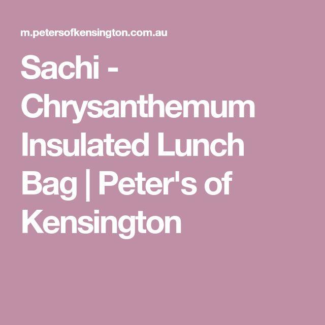 Sachi - Chrysanthemum Insulated Lunch Bag | Peter's of Kensington